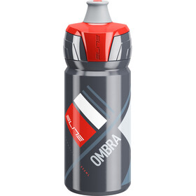 Elite Ombra Drink Bottle 550ml grey/red